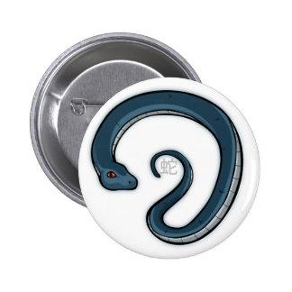 Zodiac Snake Badge Buttons