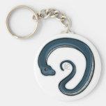 Zodiac Snake Keychain