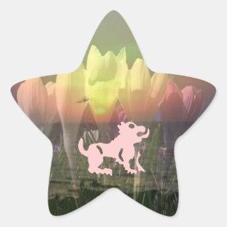ZODIAC STBX Assembly - Floral Sunset Theme Star Sticker