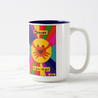 Zodiac Sun Mug - Cancer