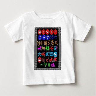 ZODIAC symbols display -JUST FOR FUN GRAPHICS Infant T-shirt