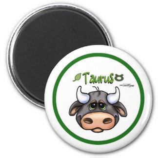 Zodiac - Taurus 2 Inch Round Magnet