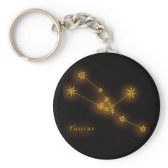 Zodiac - Taurus Keychain