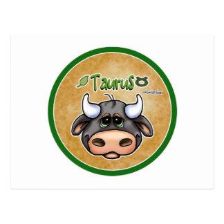 Zodiac - Taurus Postcard