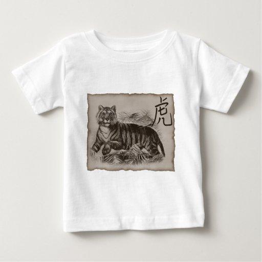 Zodiac Tiger Tshirts