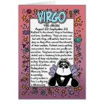 Zodiac - Virgo Fun Facts Greeting Card