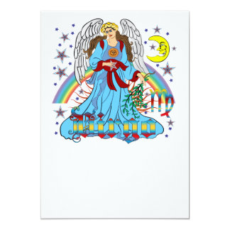 Zodiac-Virgo-V-1R 5x7 Paper Invitation Card