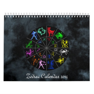 Zodiac Wall Calendar 2015