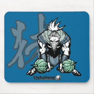 Zodiac Warriors: Year of the Boar Mouse Pad