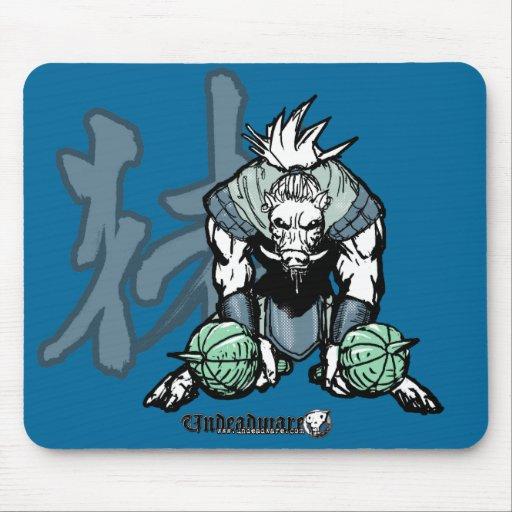 Zodiac Warriors: Year of the Boar Mousepad