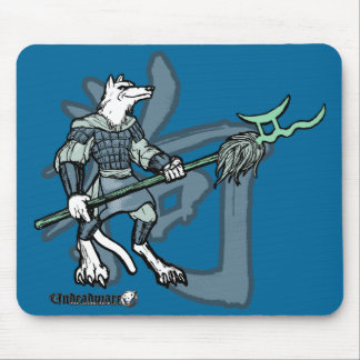 Zodiac Warriors: Year of the Dog Mouse Pads