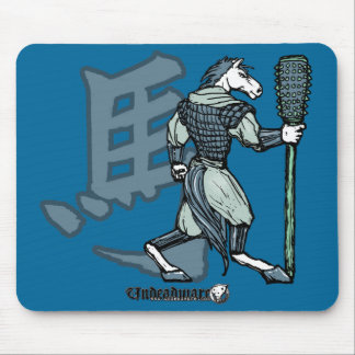 Zodiac Warriors: Year of the Horse Mouse Pad