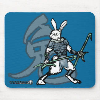 Zodiac Warriors: Year of the Rabbit Mouse Pad