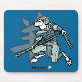 Zodiac Warriors: Year of the Ram Mouse Pad