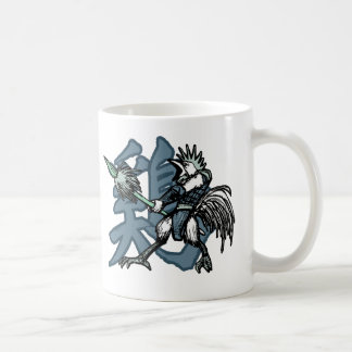 Zodiac Warriors: Year of the Rooster Coffee Mug