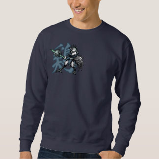 Zodiac Warriors: Year of the Rooster,Warriors Back Sweatshirt