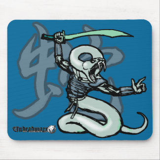 Zodiac Warriors: Year of the Snake Mousepad
