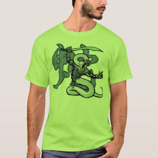 Zodiac Warriors: Year of the Snake T-Shirt