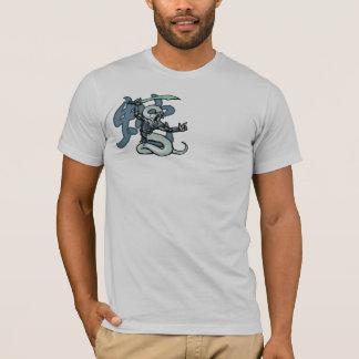 Zodiac Warriors: Year of the Snake, Warriors Back T-Shirt