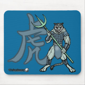 Zodiac Warriors: Year of the Tiger Mouse Pad