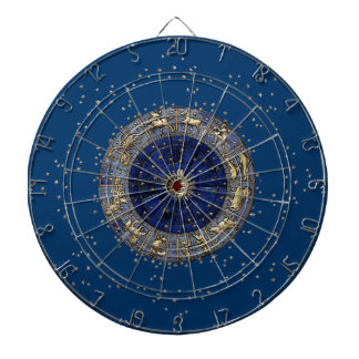 Zodiac Wheel Dart Boards