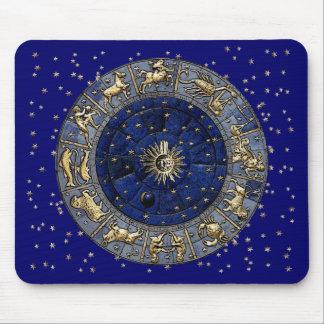 Zodiac Wheel Mouse Pad