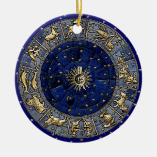 Zodiac Wheel Ornaments