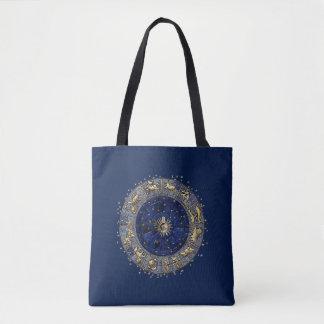 Zodiac Wheel Tote Bag