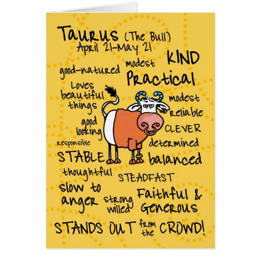 Fun Facts About Taurus