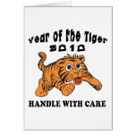 Zodiac Year of The Tiger 2010 Baby Tiger Greeting Cards