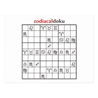 zodiacaldoku 1 postcard