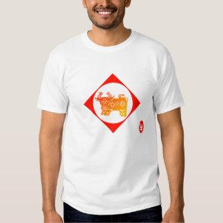 Zodiaco 12: Camiseta del buey Camisas