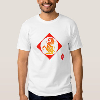Zodiaco 12: Camiseta del mono Remeras