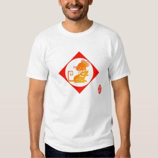 Zodiaco 12: Camiseta del ratón Playeras