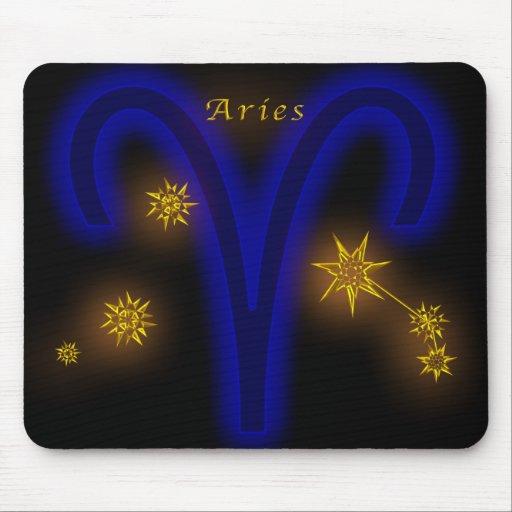 Zodiaco - aries alfombrillas de raton
