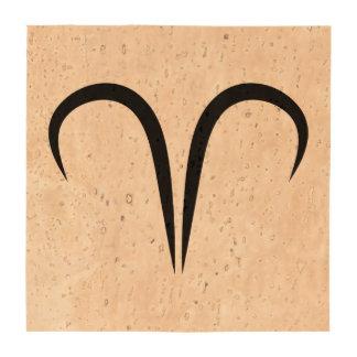 zodiaco astrológico griego del símbolo de los ares posavasos