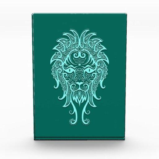 Zodiaco azul de Leo del trullo complejo