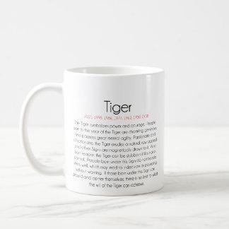 Zodiaco chino (año del tigre) 2 taza de café