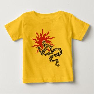 Zodiaco chino - camiseta de la muestra del dragón playera para bebé