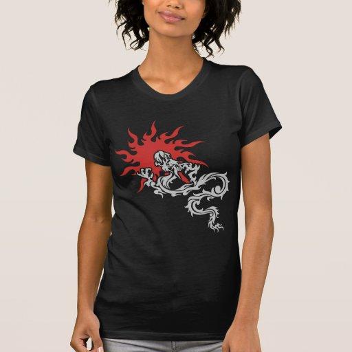 Zodiaco chino - camiseta de la oscuridad de la mue