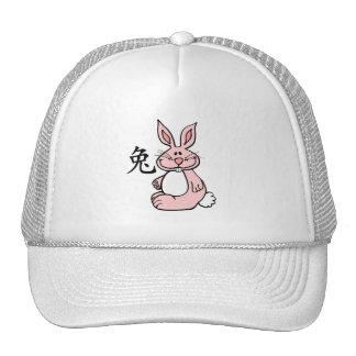 Zodiaco chino del conejo (liebre) gorros