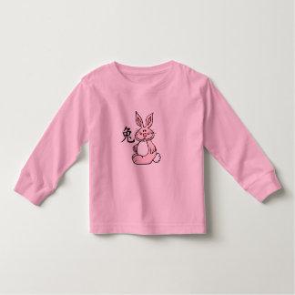 Zodiaco chino del conejo (liebre) tshirt