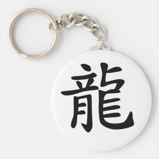 Zodiaco chino - dragón llavero