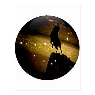 Zodiaco de la mazmorra del arte - Capricornio Postal