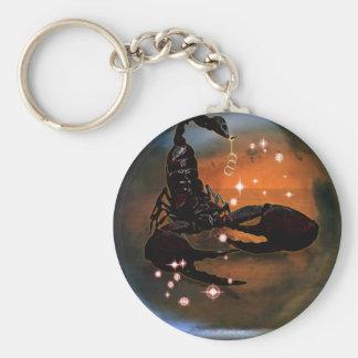 Zodiaco de la mazmorra del arte - escorpión llaveros