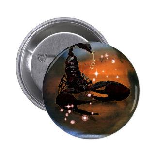 Zodiaco de la mazmorra del arte - escorpión pin