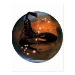 Zodiaco de la mazmorra del arte - escorpión postal