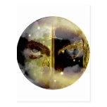 Zodiaco de la mazmorra del arte - géminis tarjetas postales