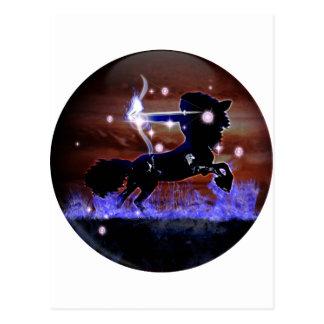 Zodiaco de la mazmorra del arte - sagitario postal