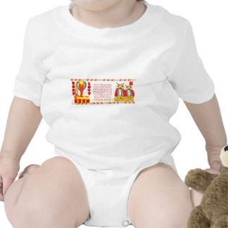 Zodiaco de la serpiente del fuego llevado 1977 gém traje de bebé